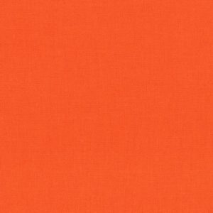 Plain Orange/Coral Fabric
