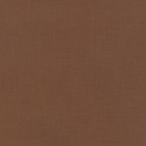 Plain Cream/Brown Fabric